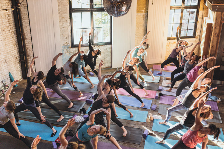 Liberty London: Yoga Brunch Club x Mira Manek